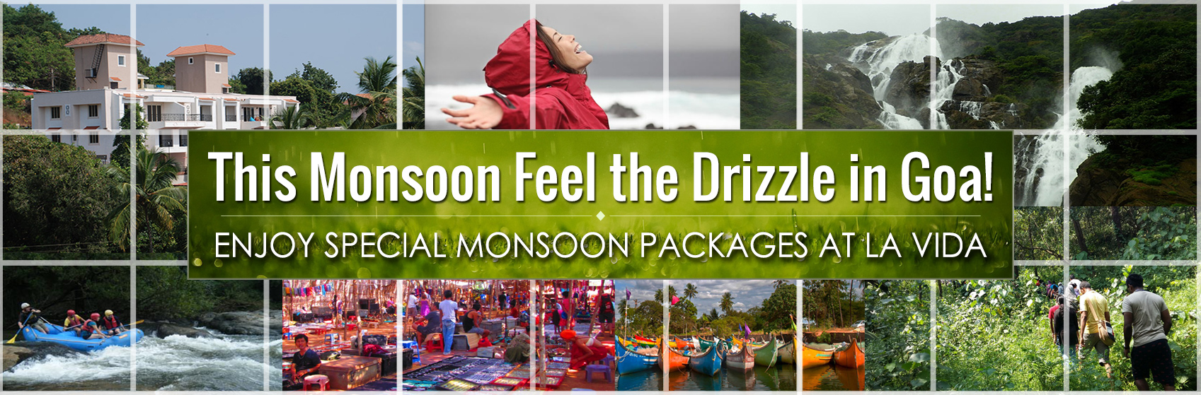 Monsoon packages for goa