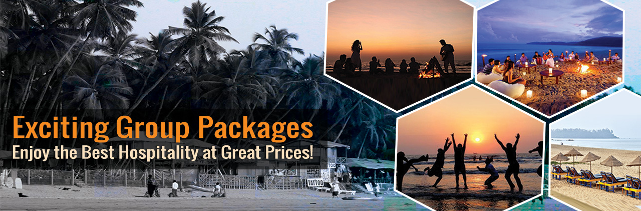 Group packages for Goa